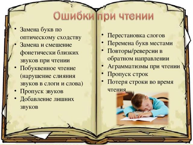 Ребенок Путает Буквы При Чтении