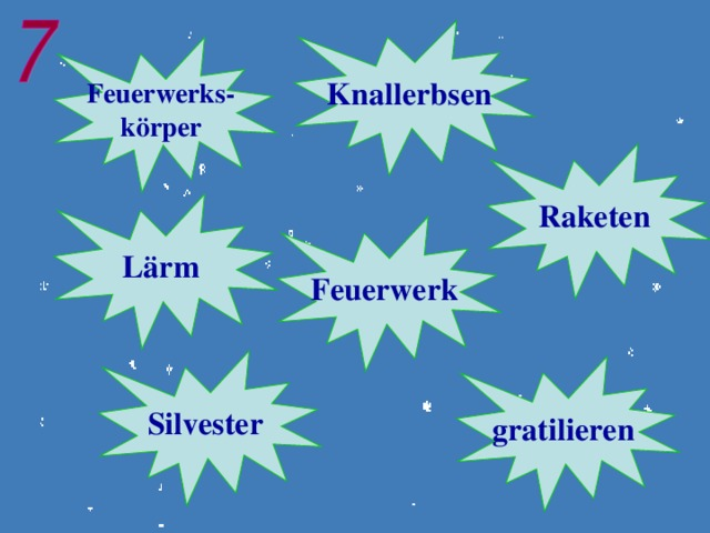 Knallerbsen Feuerwerks- körper Raketen Lärm Feuerwerk  Silvester  gratilieren
