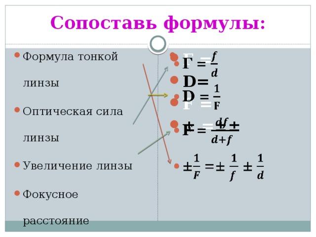 Решение задач по теме оптическая сила линзы временные ряды в эконометрике решение задач