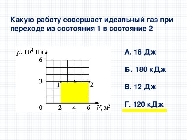 Решение задача работа идеального газа решение задач на тему объем призмы
