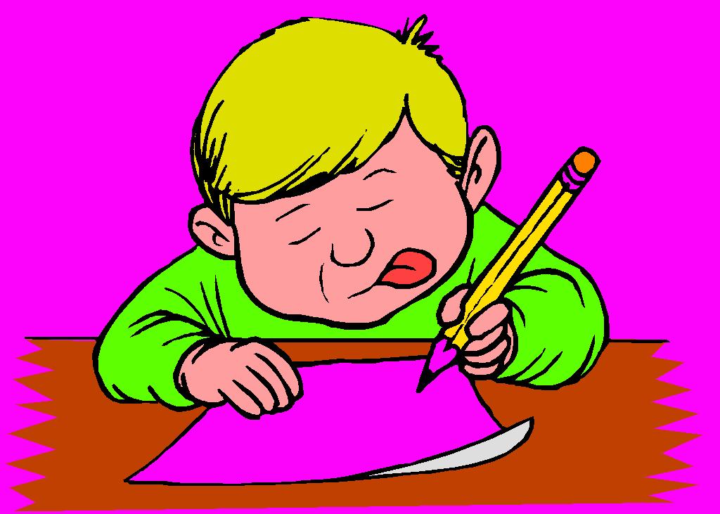 Дети пишут письмо картинки для детей