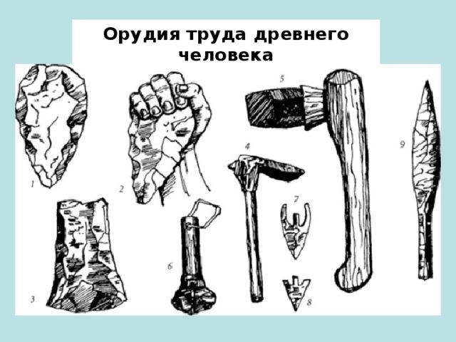 Оружие древних людей картинки для срисовки с названиями