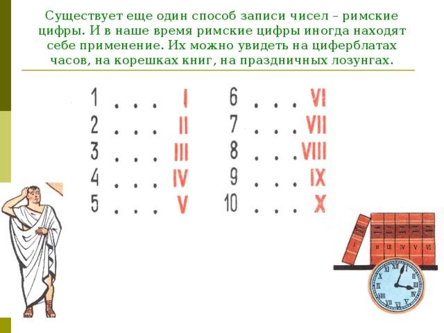 римская нумерация картинка показалось или нескольких