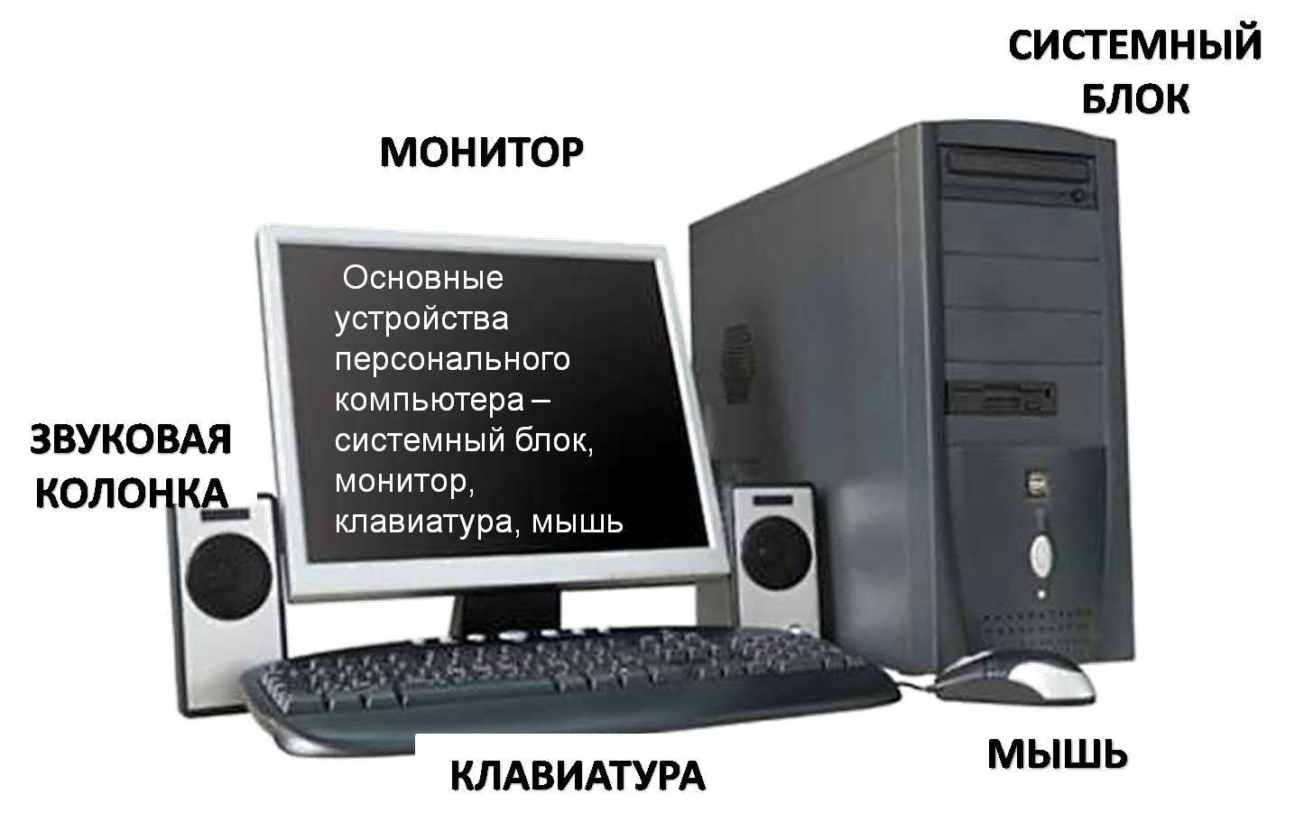 картинки как состоит компьютер любимый