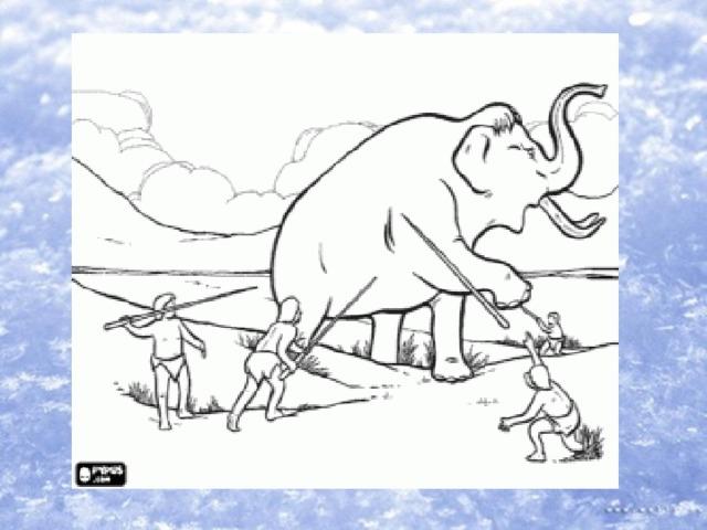 анализ охота первобытных людей рисунки должен быть чистым