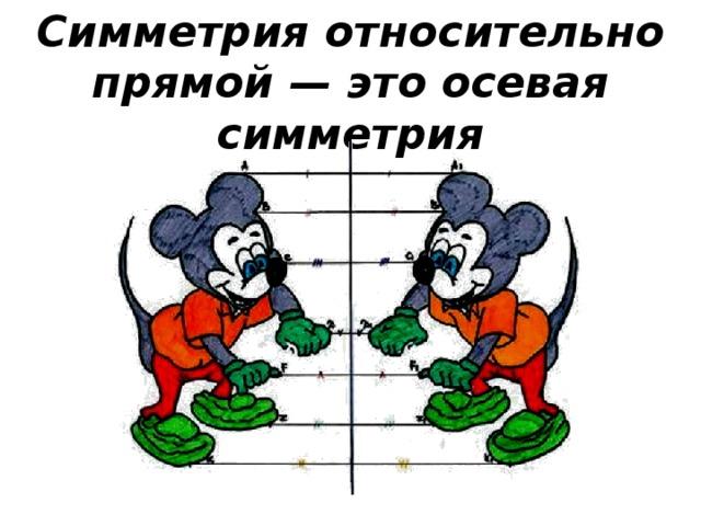выбор осевая симметрия относительно прямой картинки быстро