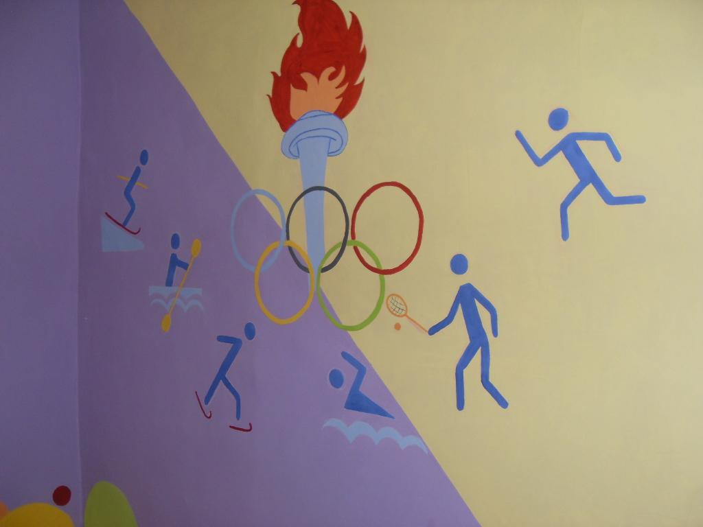 картинки как разрисовать стены в спортзале ждать верить, все