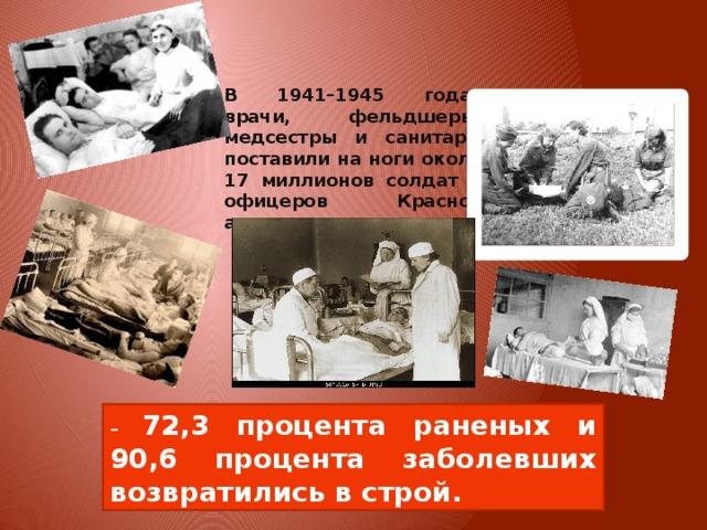 Стихи о военных врачах и медсестрах в годы вов