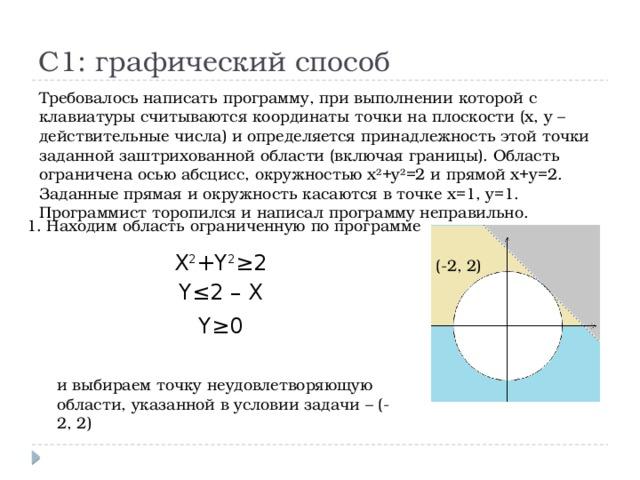 Решение задач части в егэ информатика решение задач на изгибы по сопромату