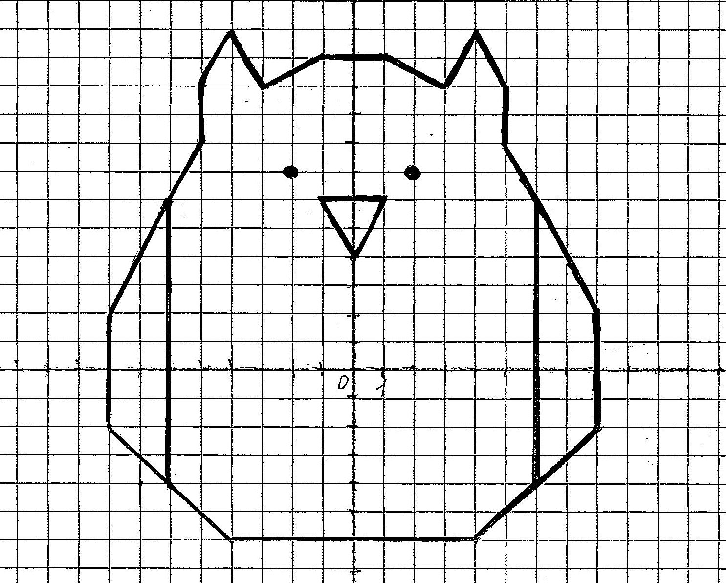 Картинки нарисованные по координатам