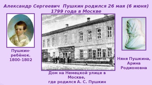 Картинки где жил пушкин
