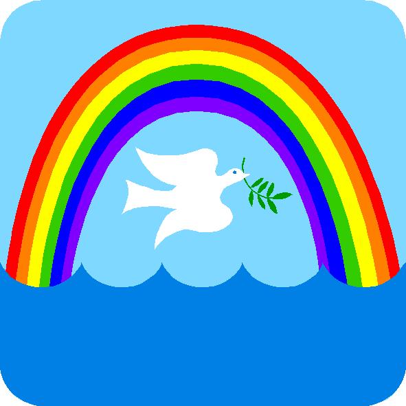 Эмблемы картинки радуга