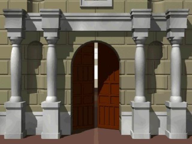 Картинки открытые двери анимация