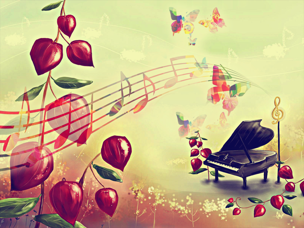 Весна музыкальные картинки