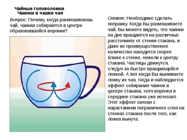 Чай в картинках с ответами