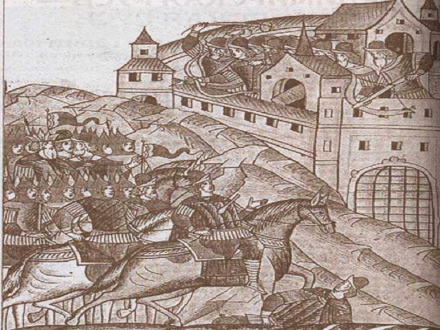 1382 г набег Тохтамыша. Москва сожжена