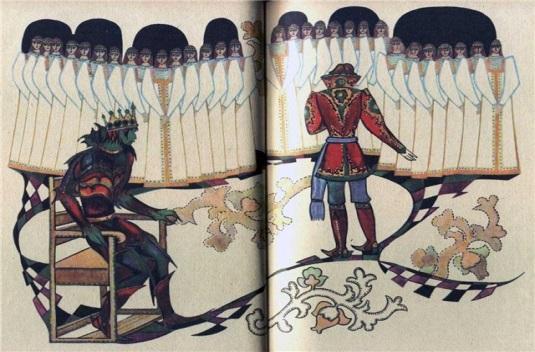Картинки к сказке о берендее
