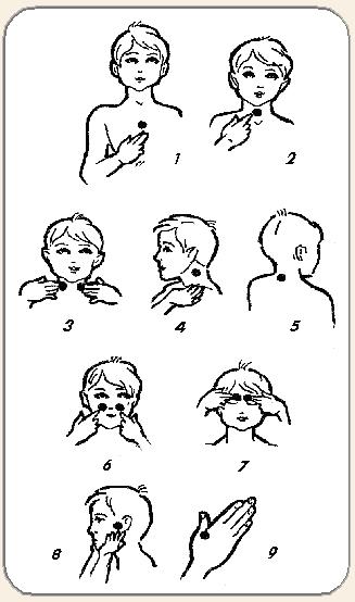 Точечный массаж для иммунитета картинки