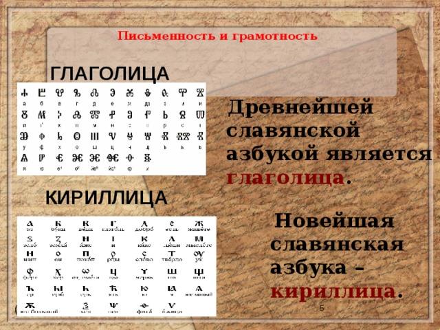 Доклад на тему история россии письменность и грамотность 5851