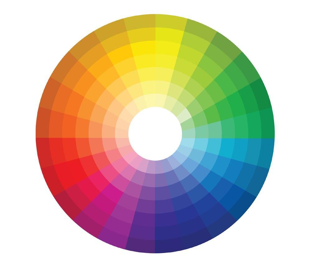 помогут картинки спектра красок как прищипывать