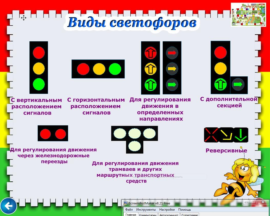 Сигналы светофора пдд картинки