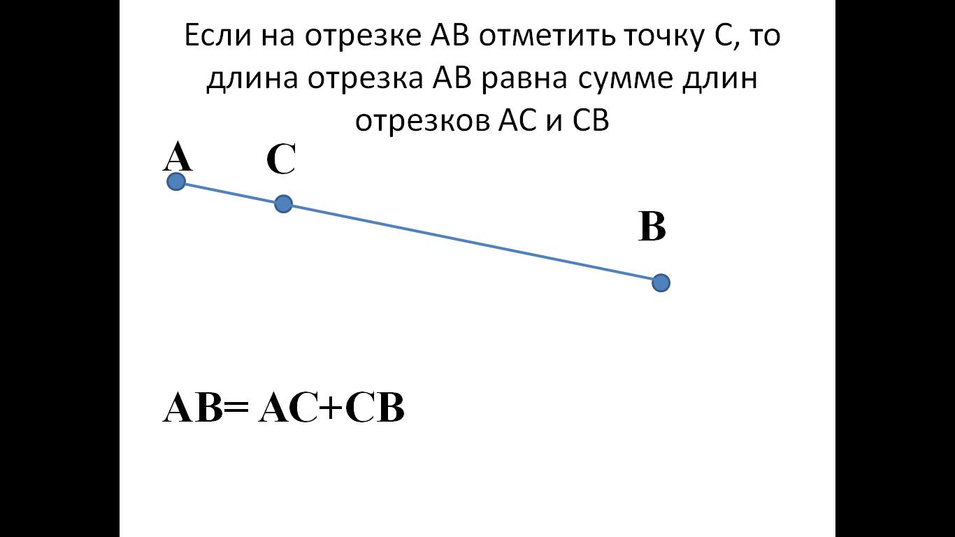 Решение задач на тему отрезок длина отрезка для выполнения задач и решение вопросов
