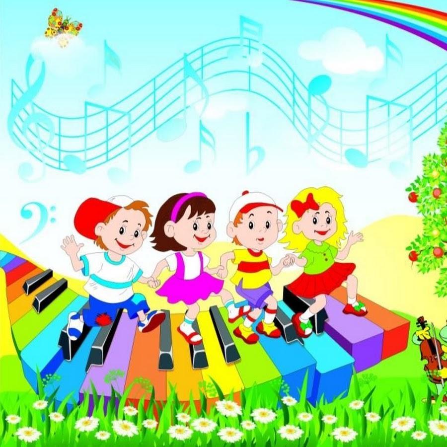 Музыкальные картинки детям, мая