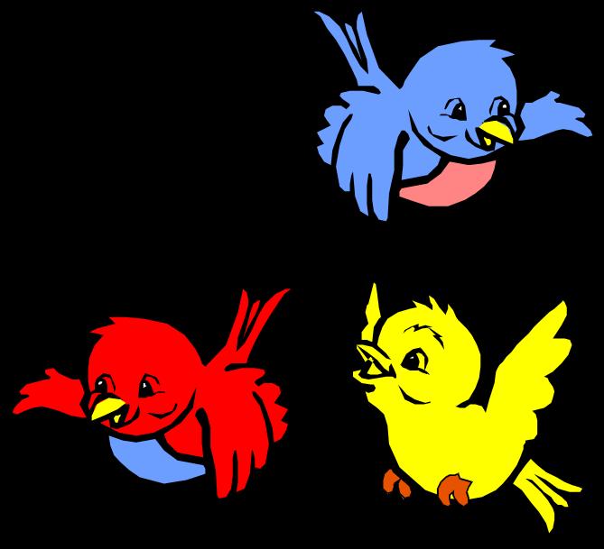 страничке картинка птички малышам рекомендую