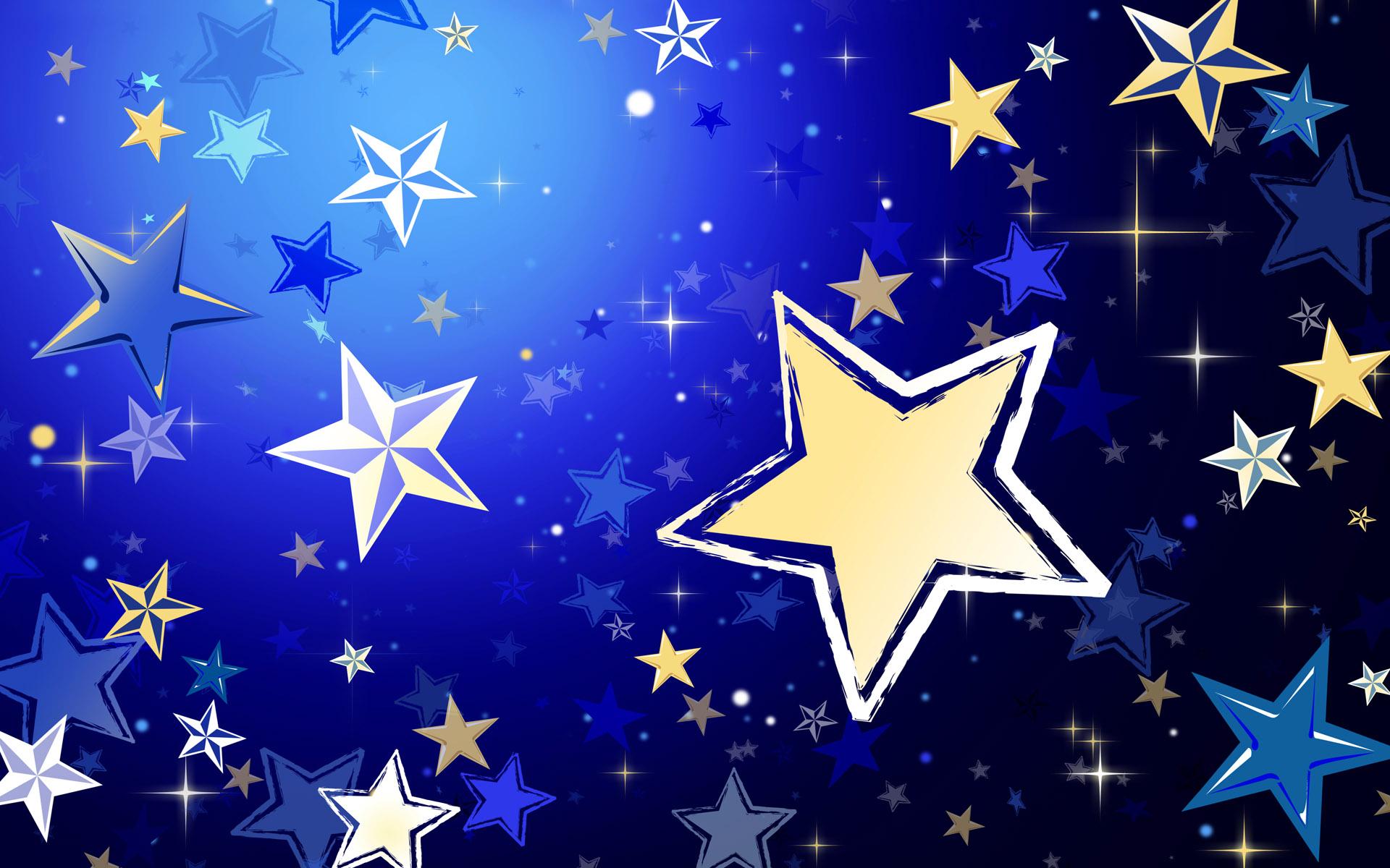 картинка звезда на синем фоне татуогромный