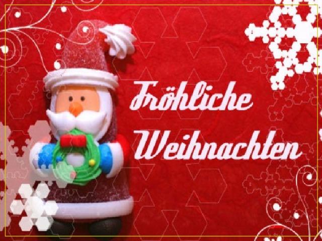 Открытки к новому году на немецком языке