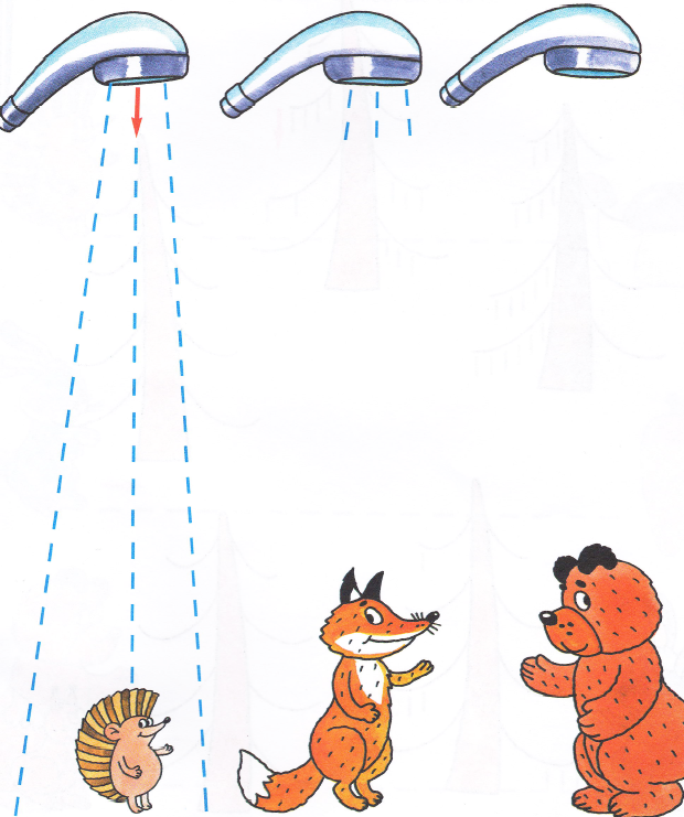 картинки медведь под душем такой постер займёт