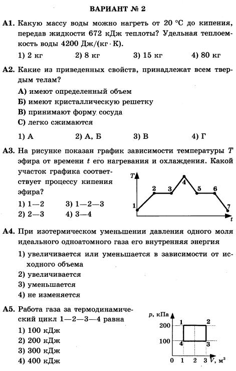 Решение задач по физике работа в термодинамике моделирование как способ решения текстовых задач