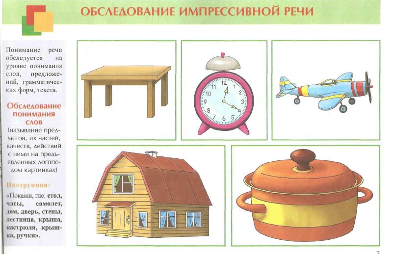 Картинки понимание речи