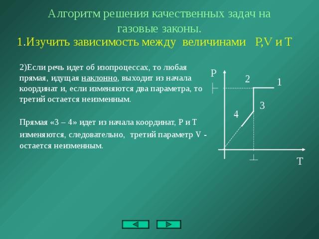 Газовые законы алгоритм решения задачи алгоритм решения задач части c