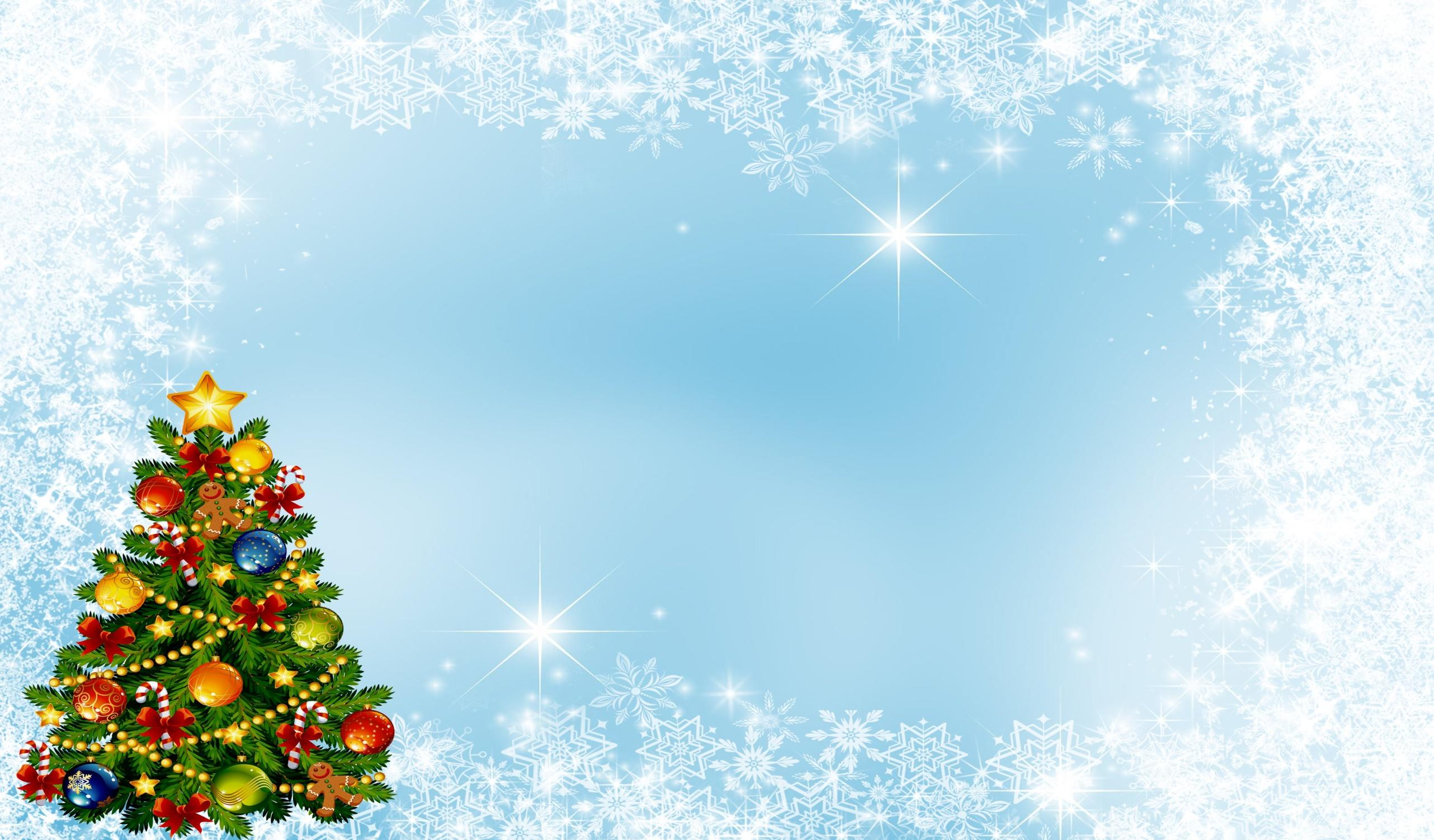 Открытка для афиши на новый год