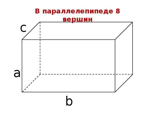 прямоугольный параллелепипед картинка геометрия все