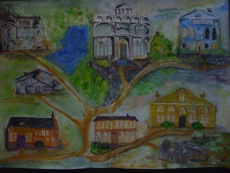 полученные картинки уездного города часть рассказа нашем