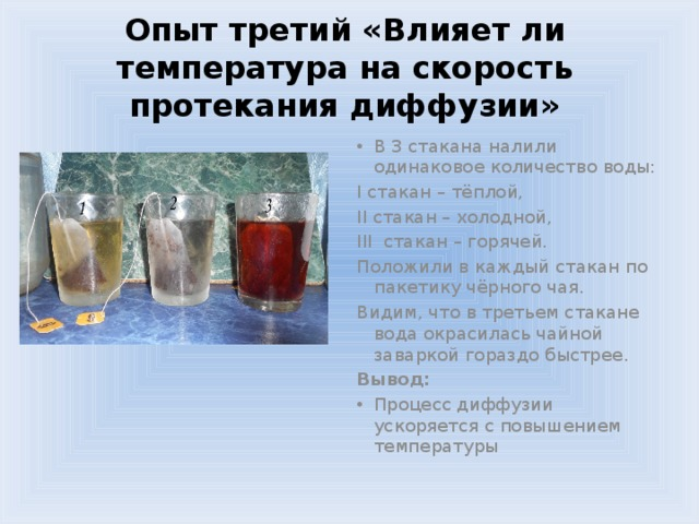 Диффузия на кухне доклад 8365