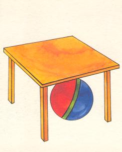 значительно картинка мячик на столе это