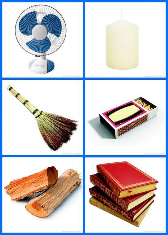 Безопасные предметы для детей в картинках
