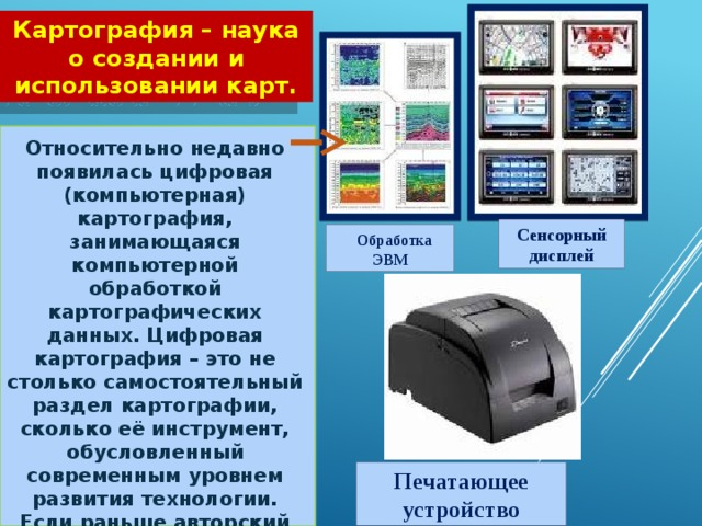 Космические и цифровые источники информации доклад 3942