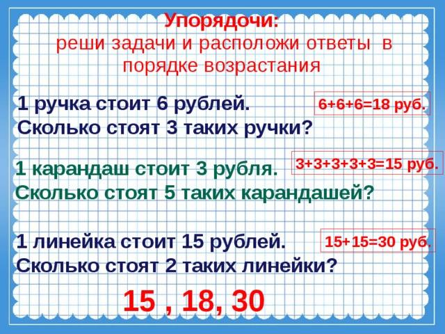 Картинка, одна открытка стоит 6 рублей вторая в 3 раза