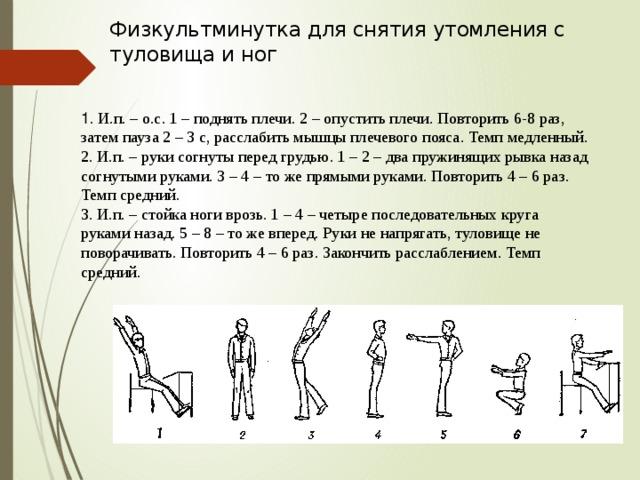 предлагают физкультминутка упражнения в картинках буженины свинины, приготовленной