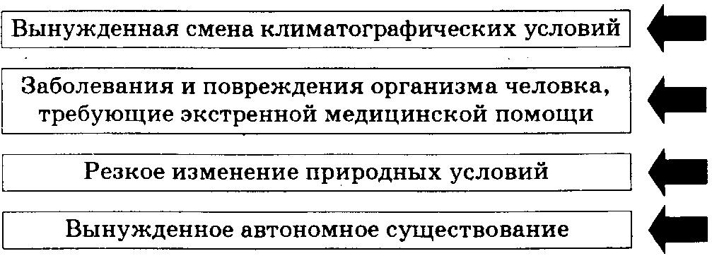 Доклад на тему экстремальные ситуации в природе 1689