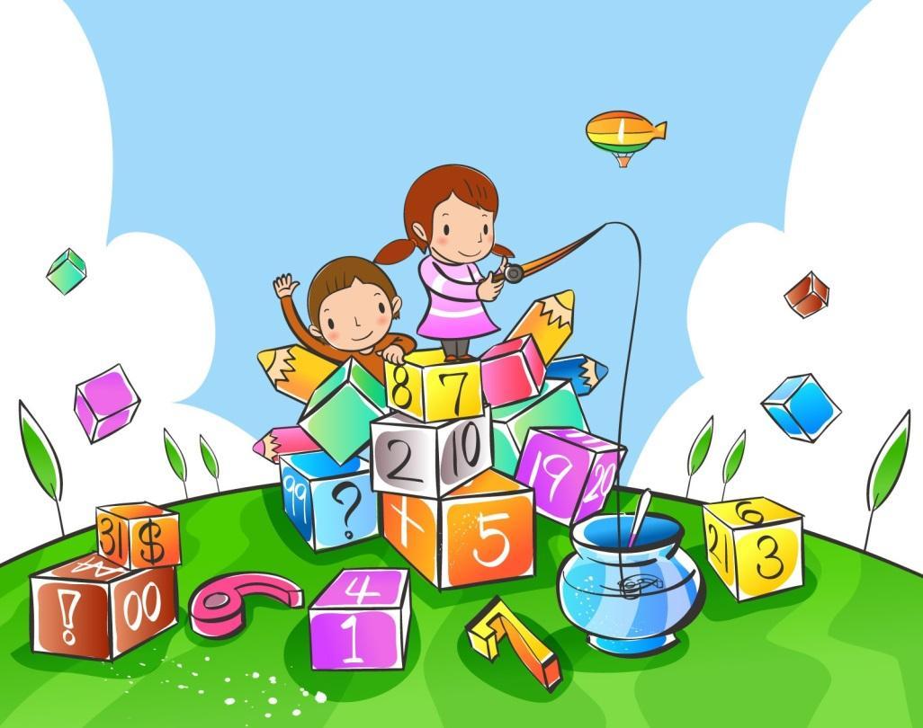Картинки ребенок занимается математикой