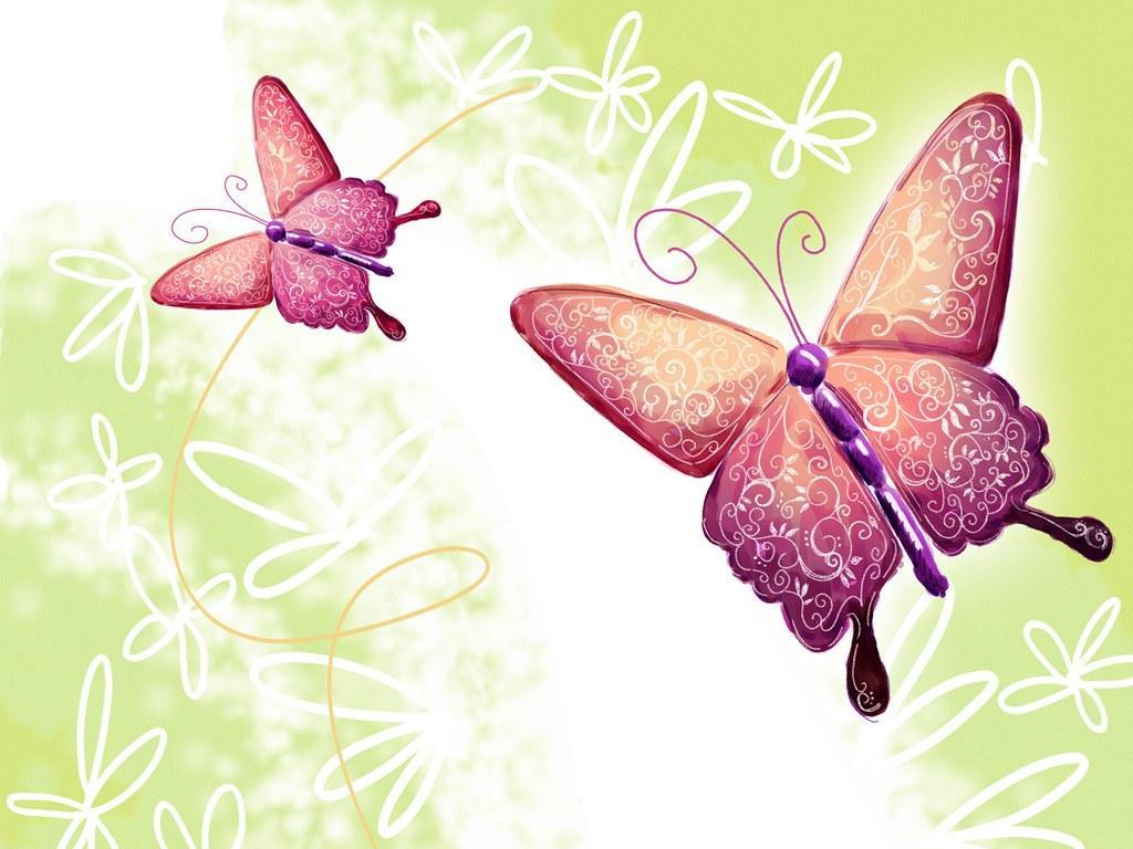 Бабочки на открытки