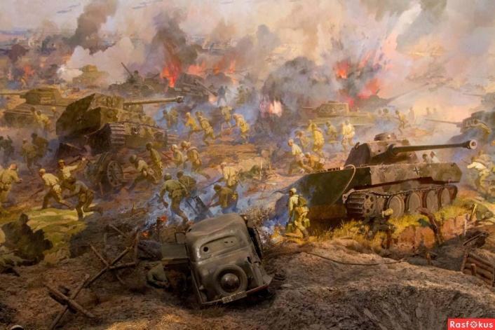 танкистам курской битвы открытка