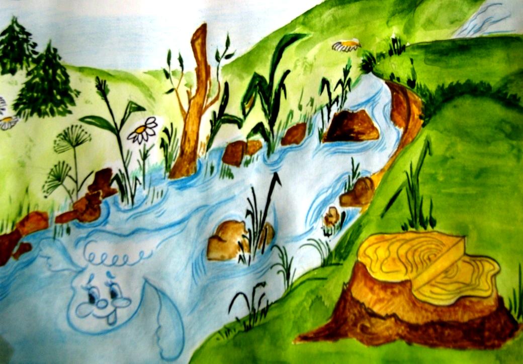 Музыка в природе рисунок карандашами