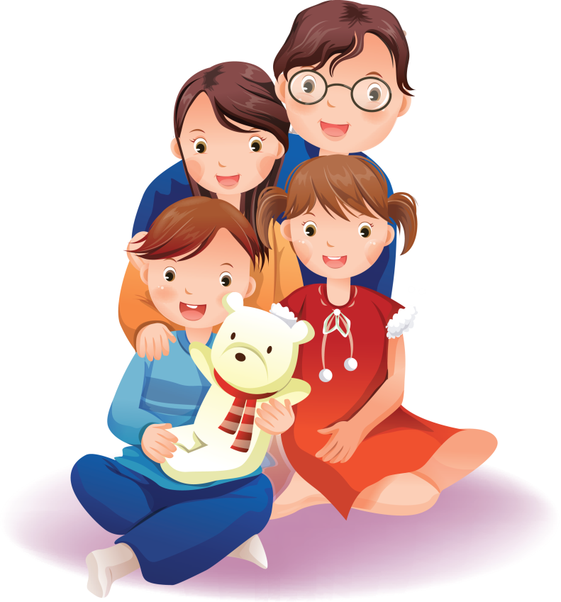 Картинки семья с ребенком нарисованные, картинки лыжница прикольные