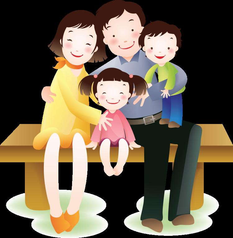 Картинки с изображением семьи для школы, для платья открытку